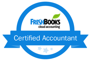 Freshbooks Certified Accountant Badge